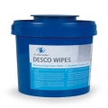 Desco Wipes DT Vliestuchspender-Eimer klein, 3 Liter Inhalt, blau