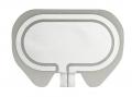 HF-Chirurgie Einmal-Neutralelektronden Bowa Easy geteilt für Erwachsene (100 Stück) die gute Alternative