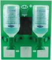 ACTIOMEDIC® EYE CARE Augenspülstation Double I,  2 x 500 ml,  mit Wandhalterung, DIN 15154