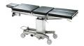 AGA JUS 2000 Mehrzweck OP-Tisch mit geteilten Beinplatten, fahrbar, hydraulisch Höhenverstelbar